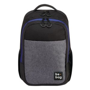 Rucksack be.clever grey melange, front-24800020_1_MDB-websiteThumb